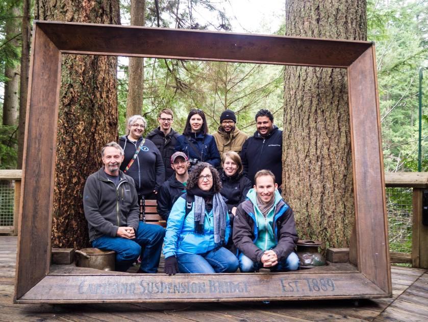theme team in a frame
