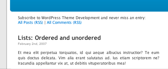 """""""Increase RSS Subscribers With WordPress Conditional Tags"""" in action"""