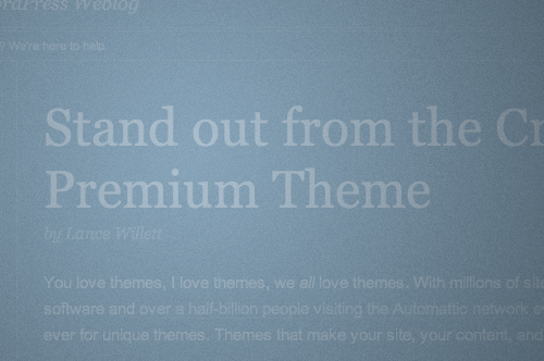 Premium Themes on WP.com, the backstory