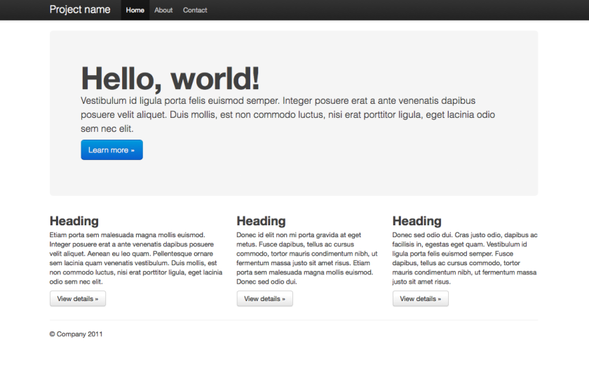 Twitter Bootstrap and WordPress Theme Frameworks – ThemeShaper