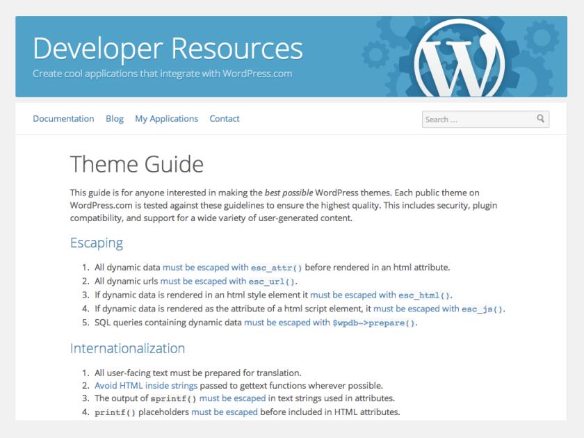 wpcom-theme-guidelines
