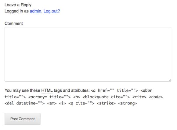 comments html template - javiersam 10 la plantilla de comentarios de un tema de