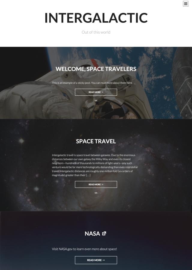 Intergalactic screenshot