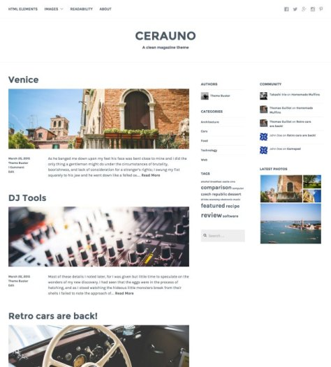 Cerauno screenshot