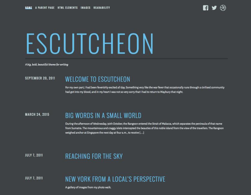 Escutcheon screenshot