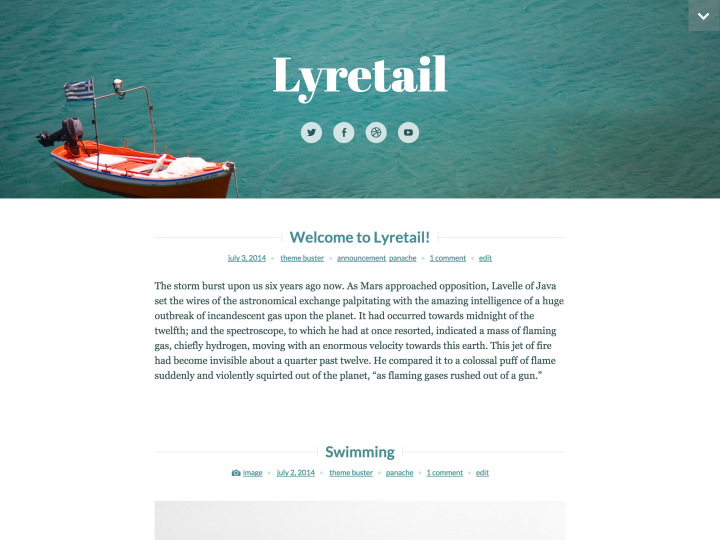 Lyretail screenshot