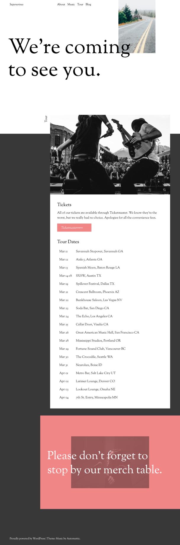 Tour-Page